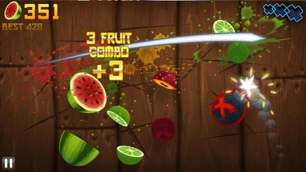 Fruit Ninja supera los 300 millones de descargas