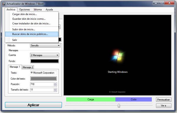 Cambiar el logo animado en el inicio de Windows 7