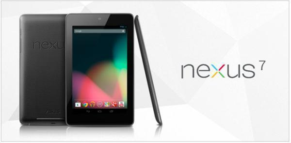 La Tablet Google Nexus 7 de 16 GB ya se ha agotado