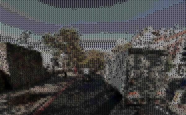 Programador crea la versión de Google Street View con imágenes en ASCII