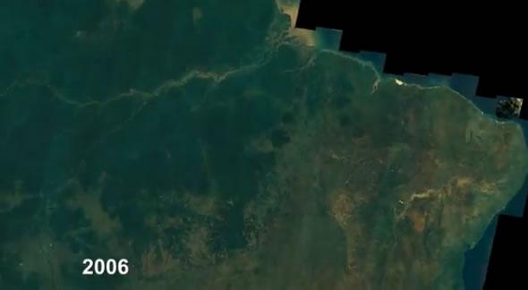 Google muestra los cambios en la superficie de la Tierra en las últimas décadas