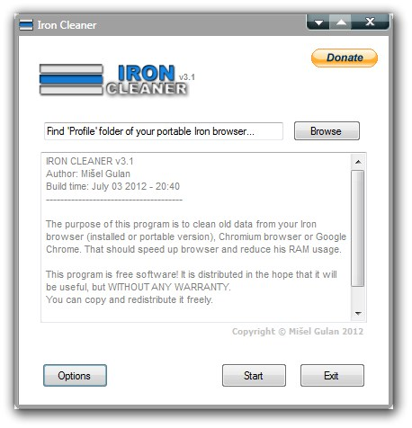 IronCleaner