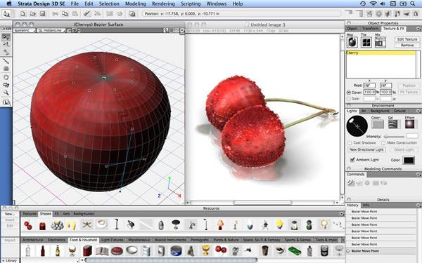 Strata Design 3D CX: Modelado tridimensional y animación de alta calidad