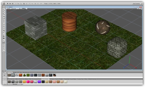 Crear objetos en 3D