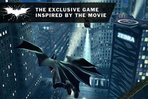 Batman: The Dark Knight Rises se convierte en juego para Android y iOS