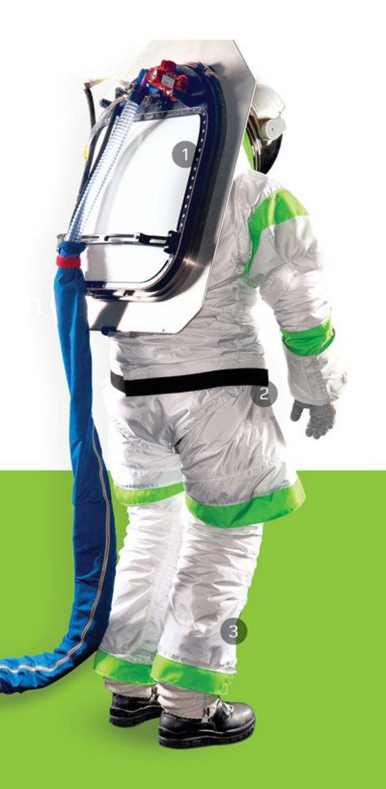 Conozca el nuevo traje espacial de los astronautas de la NASA