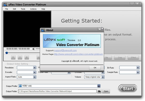 Descargar Urex Video Converter Platinum