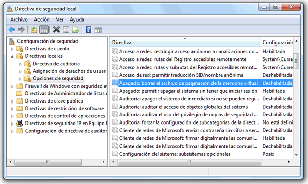 Windows 7 se demora mucho en apagarse