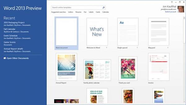 Word 2013 con edición de archivos PDF