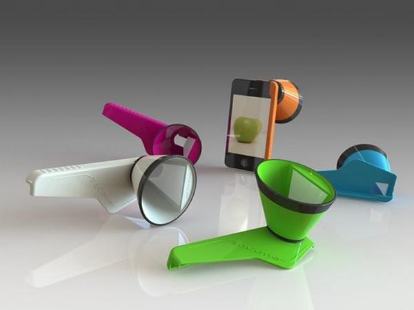 Gadget permite grabar y sacar fotografías en 3D con el iPhone