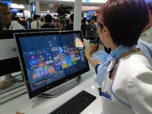Samsung presenta sus nuevos ordenadores All in One con Windows 8