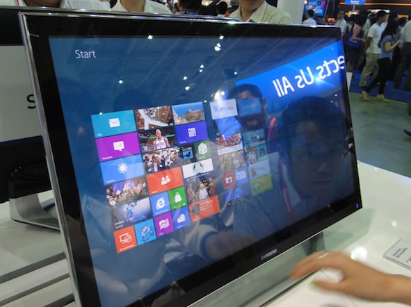 Samsung presenta sus nuevos ordenadores All in One con Windows 8