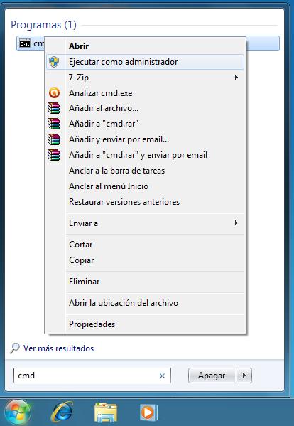 Archivos eliminados no se muestran en la papelera de Windows 7