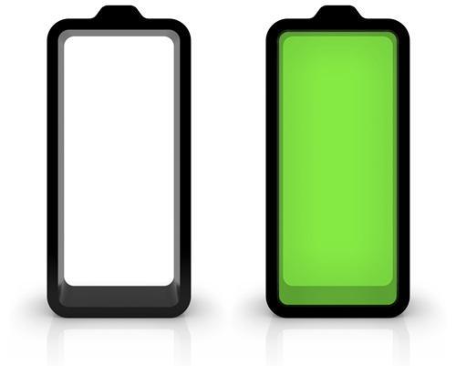 Baterías carbonizadas