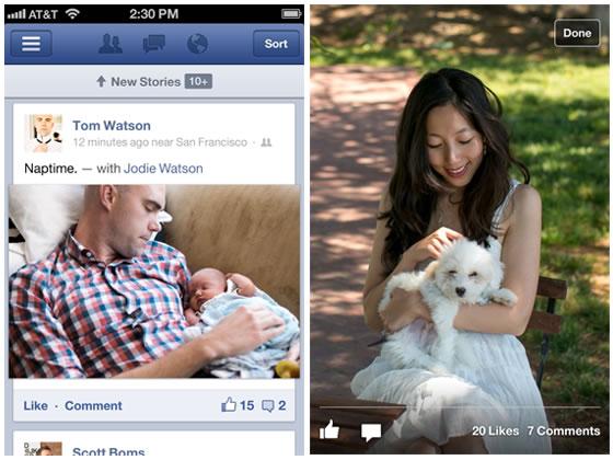 Facebook para iOS abandona HTML 5