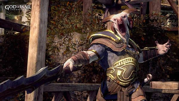 Nuevo enemigo de God Of War: Ascension dirige ejército de sátiros