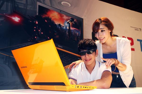 Samsung Serie 7 Gamer Yellow 3D, ordenador portátil para jugadores