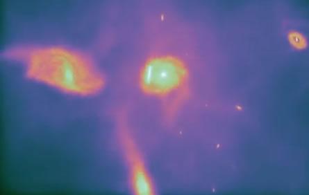 Simulador recrea los últimos 14 mil millones de años del universo