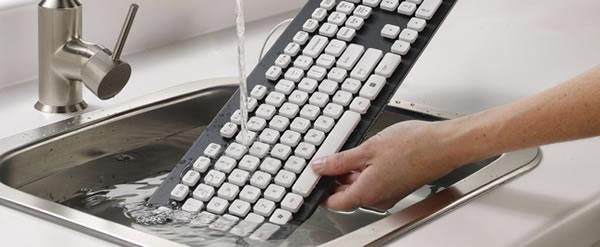 Teclado lavable a prueba de líquidos