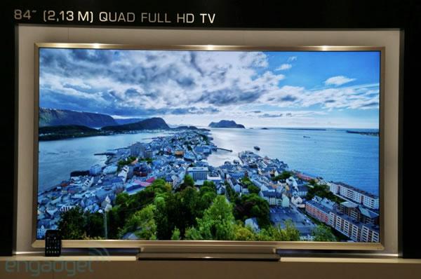 Toshiba presenta su TV Quad Full HD (4K) de 84 pulgadas en la IFA 2012