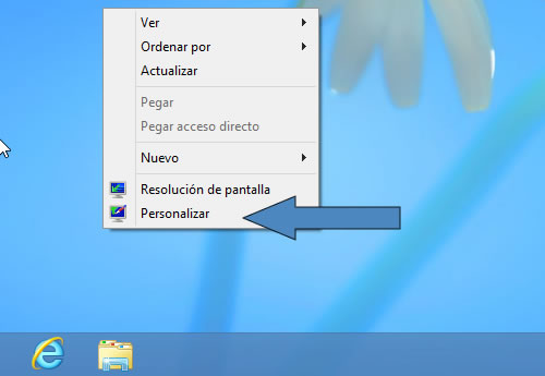 Cambiar tamaño del texto de la barra de títulos de Windows 8