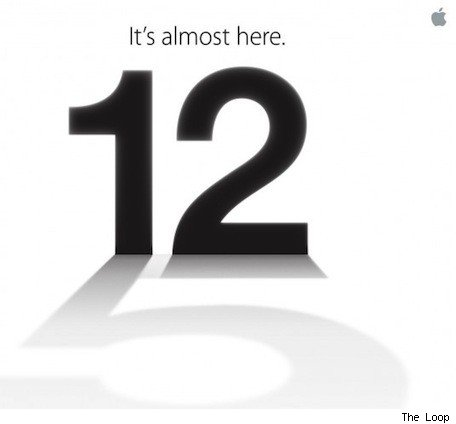 El Nuevo iPhone 5 será anunciado el día 12 de septiembre