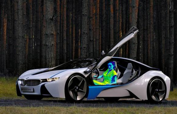 Coches eléctricos de BMW con calefacción infrarroja