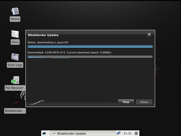 Detección y Limpieza de virus con BitDefender Rescue CD