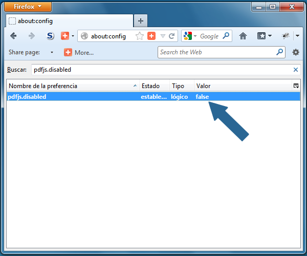 Firefox: Como activar el lector de archivos PDF