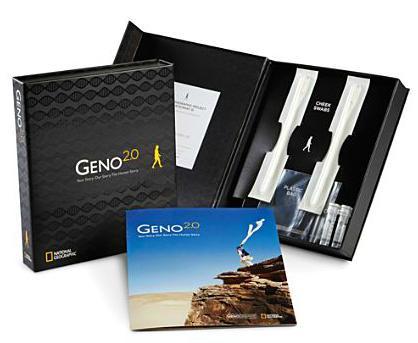 National Geographic lanza Geno 2.0 un kit para realizar pruebas de ADN