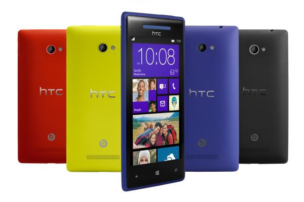 HTC 8X Smartphone con Windows Phone 8