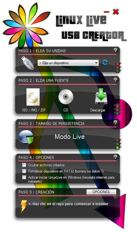 Linux Live USB Creator (LiLI)