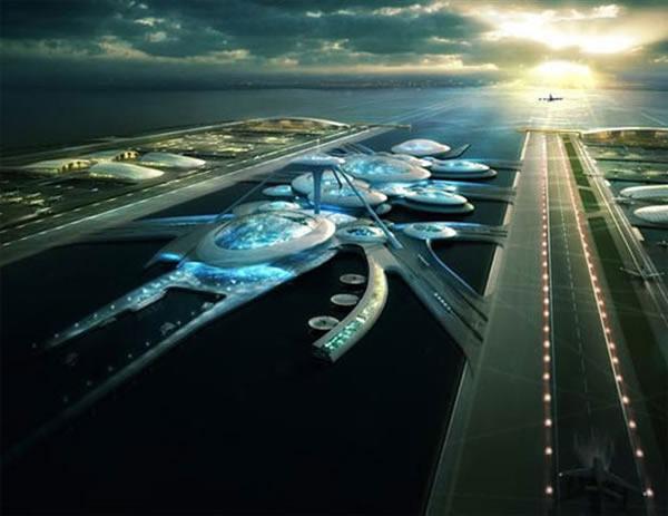 London Britannia Airport, el aeropuerto flotante para Londres