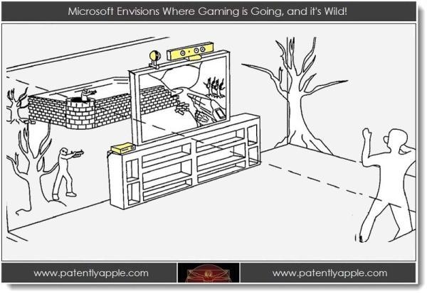 Una patente muestra la visión que tiene Microsoft sobre los juegos del futuro