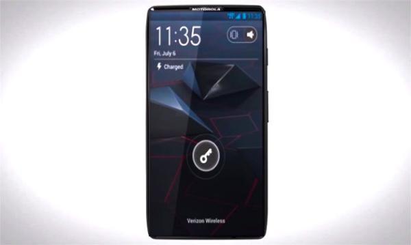 Smartphone de Motorola podría ser 100% pura pantalla, solo con un pequeño marco