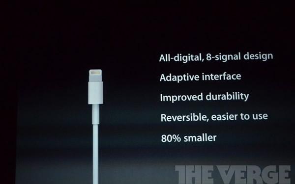 iPhone 5, nuevo conector