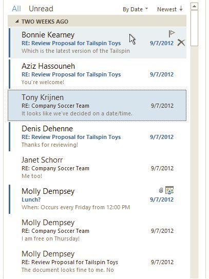 Microsoft presenta los detalles y mejoras de Outlook 2013