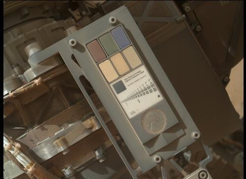 La Sonda Curiosity envía autorretratos de su estructura