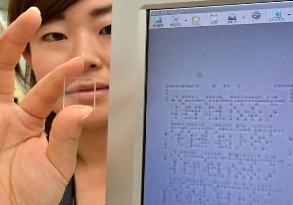La nueva tecnología creada por Hitachi puede almacenar los datos para siempre