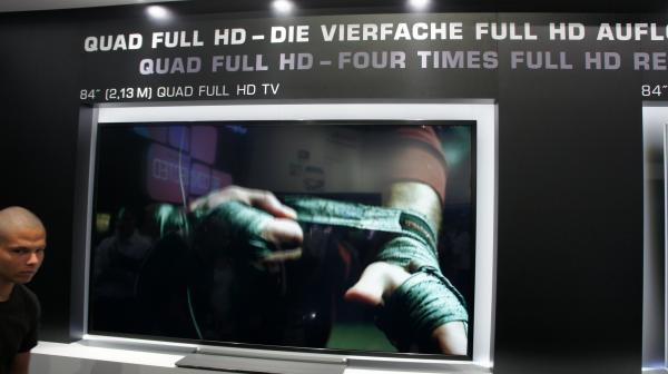Televisor 4K de 84 pulgadas ha sido mostrado por Toshiba en la IFA 2012