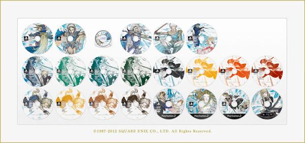 Final Fantasy para celebrar su aniversario lanzara un box con 13 juegos de la serie