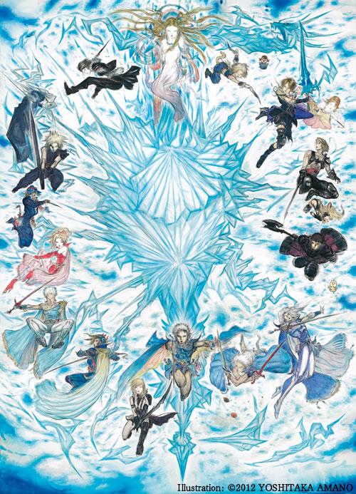 Juegos incluidos en Final Fantasy 25th Aniversary Box