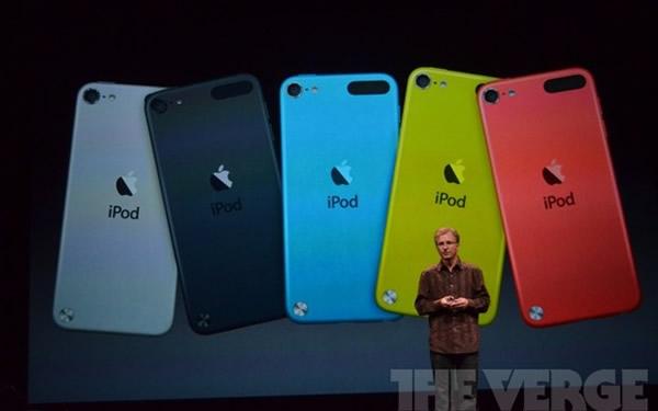 iPod Touch será vendido en cinco colores