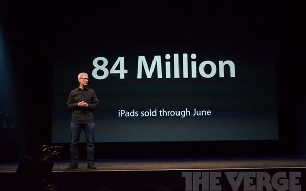 84 millones de iPad vendidos en el mundo