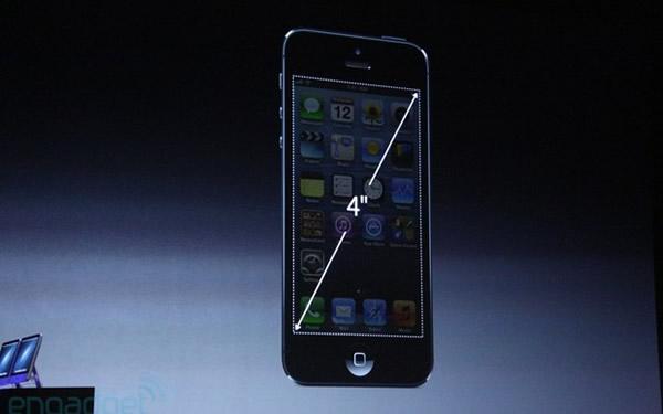 iPhone 5, pantalla de 4 pulgadas confirmada