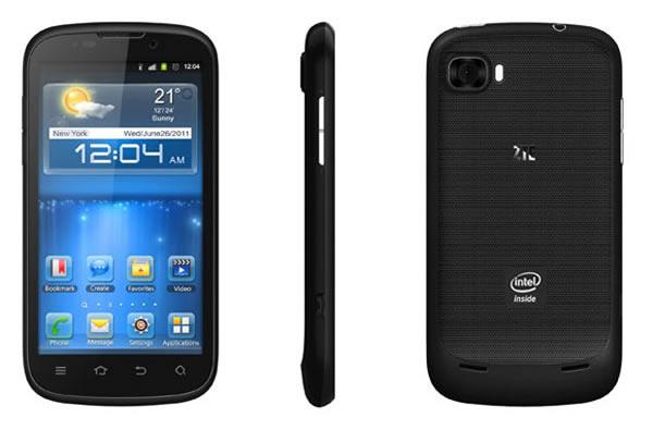 ZTE presenta Smartphone con Android y procesador Intel en la IFA 2012