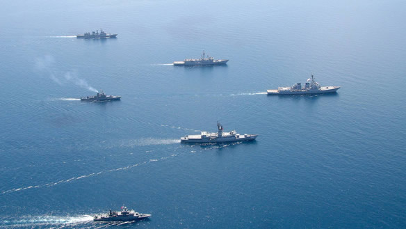 La marina de los EE.UU quiere convertir el agua del mar en combustible