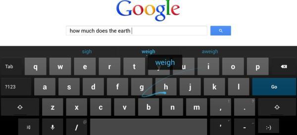 Gesture Typing