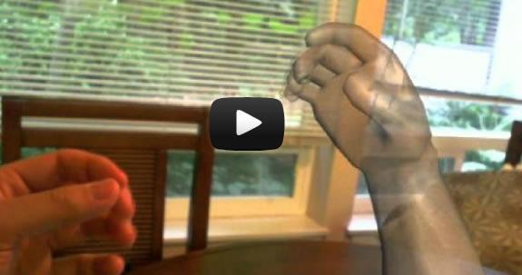 Microsoft prueba tecnología para interactuar en 3D con tu dispositivo móvil sin tocarlo con la mano