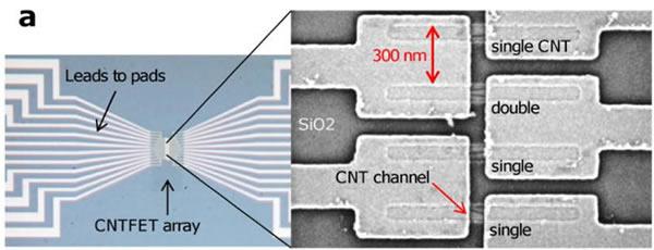 IBM ha creado chips de ordenador con nanotubos de carbono